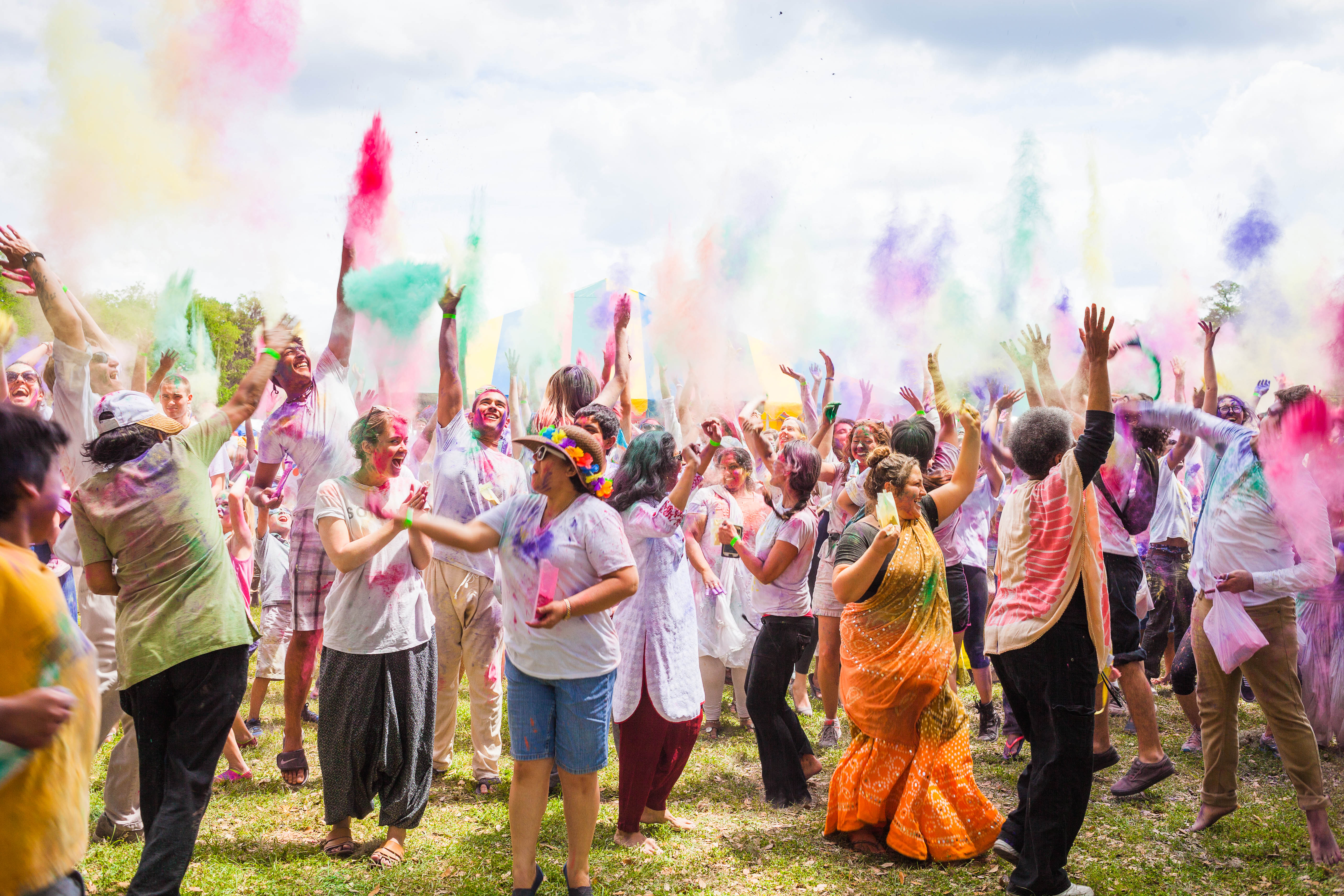 Celebrating Festival of Colors 2018